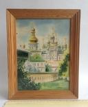Картина Лавра. Под стеклом. Автор Писаренко В. Л. 1993 год., фото №2