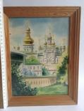 Картина Лавра. Под стеклом. Автор Писаренко В. Л. 1993 год., фото №6