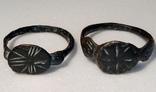 Перстни средневековые (2 шт.)