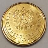 Польща 1 грош, 2017 фото 2