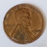 США 1 цент, 1964