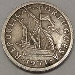 Португалія 2.5 ескудо, 1971