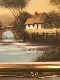 Подписная картина маслом, фото №5