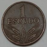 Португалія 1 ескудо, 1975