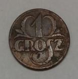 Польща 1 грош, 1937