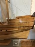 Трехмачтовый парусник, корабль, фото №4