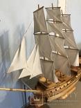 Трехмачтовый парусник, корабль, фото №13