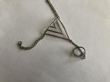 Слейв браслет с кольцом на цепочке, фото №5