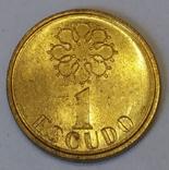 Португалія 1 ескудо, 1987