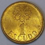 Португалія 1 ескудо, 1988