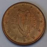 Ірландія 1 євроцент, 2002