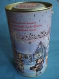 Круглая банка от Новогоднего подарочного набора., фото №2