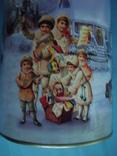 Круглая банка от Новогоднего подарочного набора., фото №3