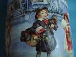 Круглая банка от Новогоднего подарочного набора., фото №4