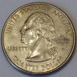 США ¼ долара, 2000 Квотер штату Вірджинія фото 2