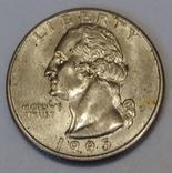 США ¼ долара, 1995 фото 1