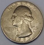США ¼ долара, 1983