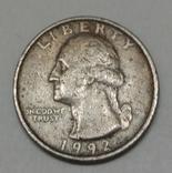 США ¼ долара, 1992