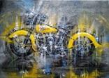 Картина Harley-Davidson Художник Ellen ORRO холст/акрил 50х70 2019 г., фото №2
