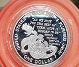 США 1 доллар 1995 г. Олимпийские игры, Спорт. Пруф, фото №3