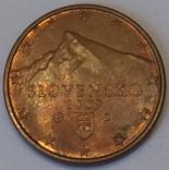 Словаччина 5 євроцентів, 2009