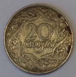 Польща 20 грошей, 1923