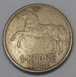 Норвегія 1 крона, 1967