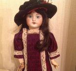 Антикварная кукла SFBJ 60. Рост 56 см. Опилки., фото №6