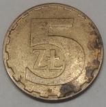 Польща 5 злотих, 1987