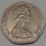 Велика Британія 50 пенсів, 1983