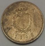 Мальта 1 цент, 1995 фото 2