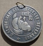 Чемпионат СССР пловцов - ветеранов плавание Киев ( тяжелый металл ), фото №2