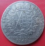 Талер 1767 года,Саксония –Альбертинская Линия,Фридрих- Август III, фото №2