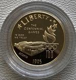 США 5 $ 1995 год золото 8,35 грамм 900', фото №2