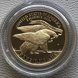 США 5 $ 1995 год золото 8,35 грамм 900', фото №3