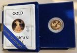 10 $ 1990 год США золото 8,48 грамм 916,7', фото №2