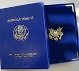 10 $ 1990 год США золото 8,48 грамм 916,7', фото №7