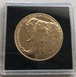 30000 франков 1993 год Экваториальная Гвинея золото 33,93 грамма 917', фото №2