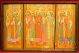 Картина художник М. Чорний, благословение, холст, масло, размеры картины 73 х 117 см, фото №2