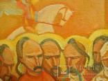 Картина художник М. Чорний, благословение, холст, масло, размеры картины 73 х 117 см, фото №9