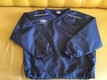 Кофта, ветровка для бега, спорта Umbro, р.126 см, фото №2