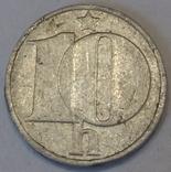 Чехословаччина 10 гелерів, 1982