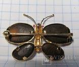 Золотой кулон-брошка с опалами, фото №6