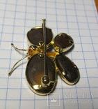 Золотой кулон-брошка с опалами, фото №7