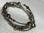 Винтажный серебристый браслет с Англии, фото №2