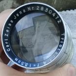 Обьектив Carl Zeiss Jena Triotar 1:4 f = 13.5 cm, фото №11