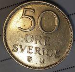 Швеция 50 оре 1973, фото №2