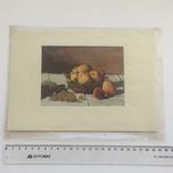 Старинная открытка Италии. Шелкография., фото №8