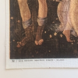 Декоративная открытка старой Италии. Шелкография., фото №5