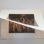 Декоративная открытка старой Италии. Шелкография., фото №6